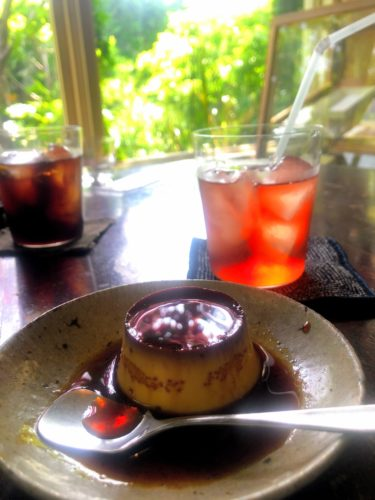喫茶ミンカへ行ってきた!北鎌倉の古民家カフェの自家製プリンが美味しい。