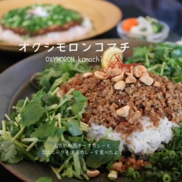 オクシモロンコマチ 鎌倉の小町通りイチ人気のカレー屋専門店OXYMORON komachi